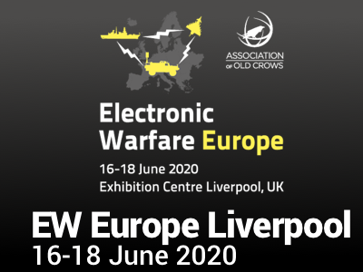 Electronic Warfare Europe 2020 Liverpool